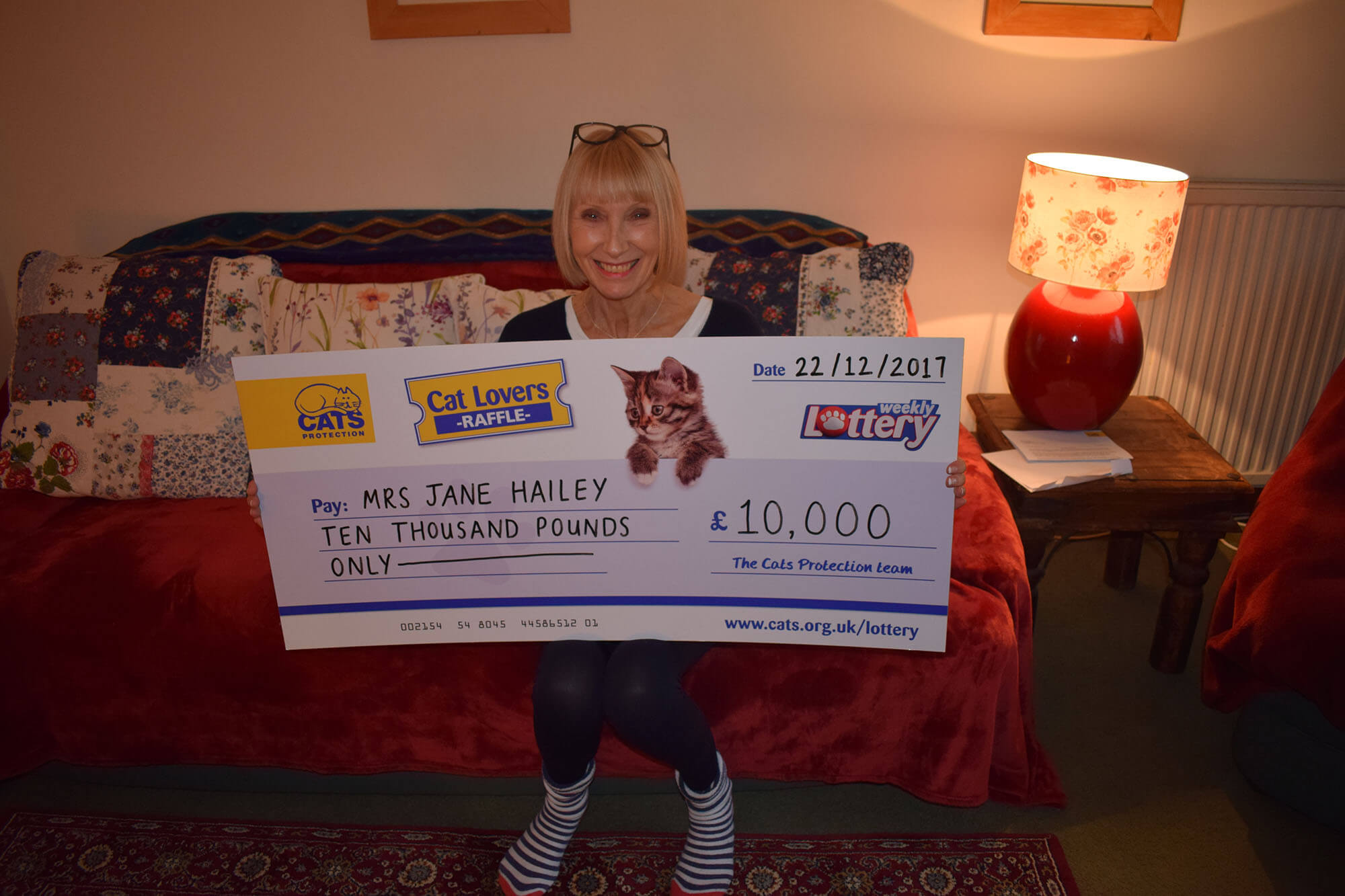 Cats Protection Lottery Winners
