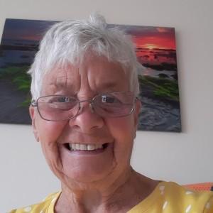 Weekly Lottery runner-up Maureen Millar
