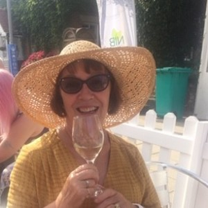Weekly Lottery runner up Maureen Brennan