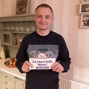 """Mr Unsworth - £25,000 jackpot winner.  """"This win means so much to us , a massive boost in lockdown and a huge step closer to a comfortable retirement."""""""